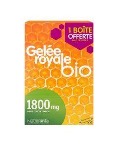 Nutrisanté Gelée Royale Bio Trio 3x10 Ampoules