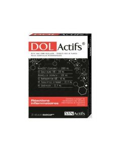 Synactifs Dolactifs 15 géllules
