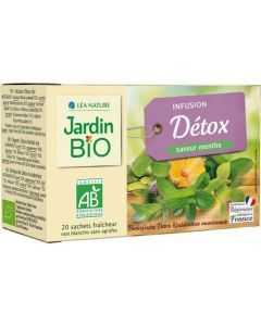 Jardin Bio Infusion Détox Bio 20 Sachets