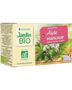 Jardin Bio Infusion Aide Minceur 20 Sachets