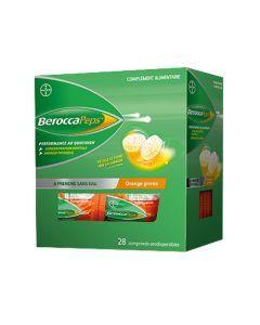 BeroccaPeps Orange Givrée 28 Comprimés Orodispersibles
