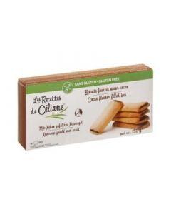 Les Recettes de Céliane Biscuits Fourrés Saveur Cacao 150g