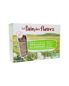 Pain des Fleurs Tartines au Sarrasin 300g