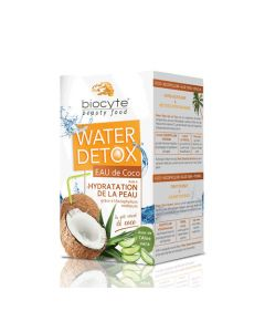Biocyte Beauty Food Water Détox Eau de Coco 112g