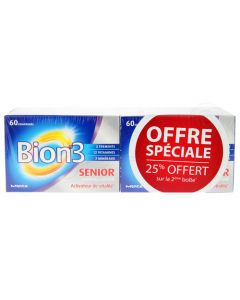 Bion 3 Sénior Lot de 2x60 Comprimés