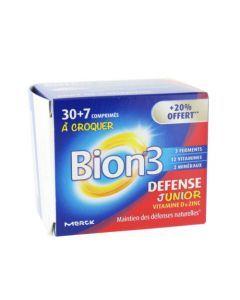 Bion 3 Défense Junior 30 Comprimés + 7 Offerts