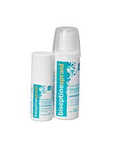 Biseptinespraid solution pour application cutanée 125 ml
