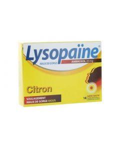 Lysopaïne Citron 20mg 18 Comprimés