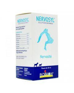 Boiron Nervosyl Solution Buvable Nervosité Chiens et Chats 30ml