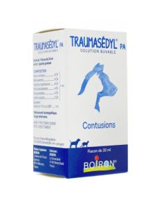 Traumasédyl PA Solution Buvable Contusion Chats et Chiens 30ml