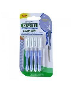 GUM Brossettes 0.6mm Trav-ler Cylindriques