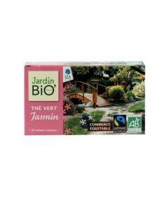 Jardin Bio Thé Vert Jasmin Bio 20 Sachets