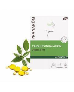Pranarôm Aromaforce Capsules Inhalation Bio 15 mono-doses