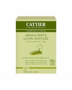 Cattier Argile Verte Ultra-Ventilée 250g