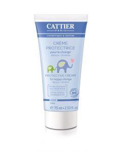 Cattier Bébé Crème Protectrice pour le Change 75ml