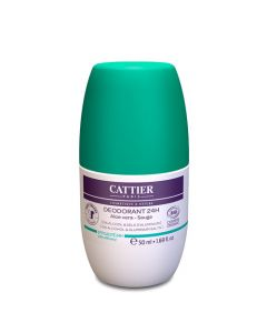 Cattier Déodorant Bio Roll-On 24h 50ml