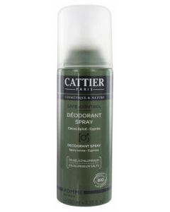 Cattier Déodorant Spray Homme Safe-Control 100ml