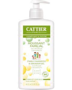 Cattier Moussant Familial Corps & Cheveux 1L