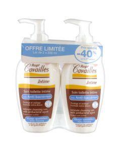 Rogé Cavaillès Soin Toilette Intime Anti Bacterien -40% sur le 2ème 2x200ml