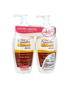 Rogé Cavaillès Soin Toilette Intime Extra Doux -40% sur 2ème 2x200ml