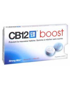 CB12 Boost Chewing-gum Menthe Forte Sans sucre x 10