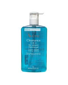 AVENE Cleanance Gel Nettoyant Visage Peaux Grasses 400ml