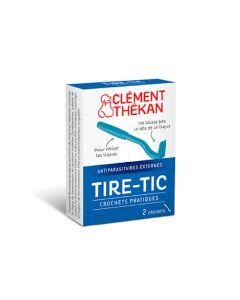 Clément Thékan Tire Tic Anti Tiques 2 Crochets