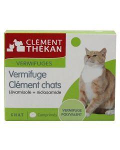 Clément Thekan Vermifuge Chat Comprimés
