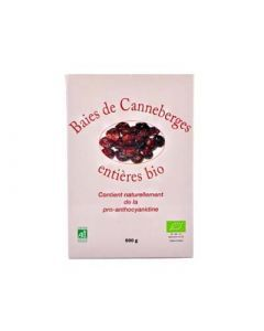 Baies de Canneberge Bio 500g