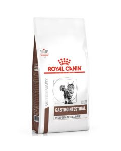 Royal Canin Veterinary Gastrointestinal Moderate Calorie pour Chat 4kg