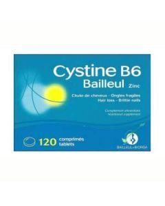 Cystine B6 Bailleul chute de cheveux