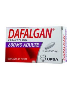Dafalgan suppositoire 600 mg