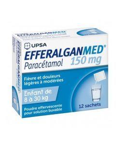 Efferalganmed poudre effervescente pour solution buvable 150 mg