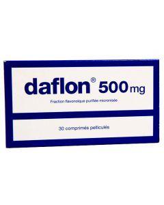 Daflon 500mg 30 comprimés
