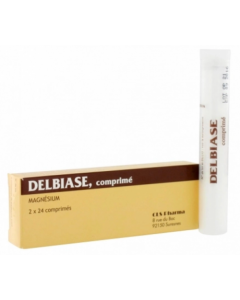 Dielbiase - Magnésium 48 Comprimés