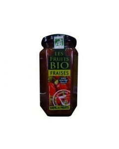 Destination Dessert Bio 100% Issu de Fruits Fraises 300g