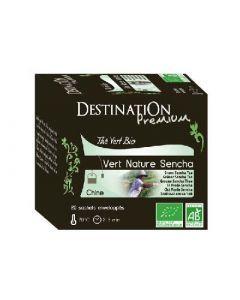 Destination Thé Vert Bio Sencha 20x2g