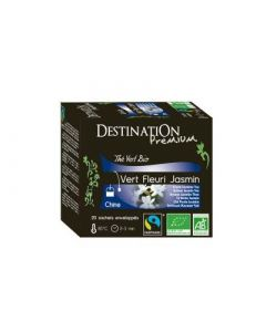 Destination Thé Vert Fleuri Jasmin 20x40g