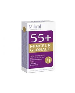 Milical 55 + Minceur Globale 14 Capsules + 14 Comprimés