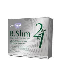 Dietworld B.Slim Complément 2en1 14 Sachets