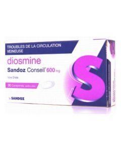 Diosmine Sandoz conseil 600 mg
