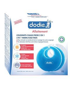 Dodie Coussinets Chaud / Froid 2 En 1 X2