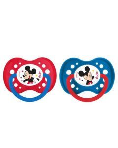Dodie Sucette Anatomique +18 Mois Duo Disney Mickey A65