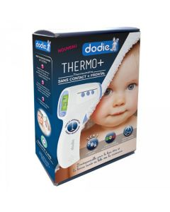 Dodie Thermo+ Thermomètre Sans Contact et Frontal