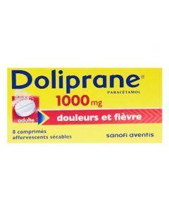 Doliprane comprimé effervescent 1000 mg