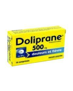 Doliprane comprimé 500 mg