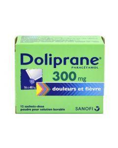 Doliprane poudre sachet solution buvable 300 mg