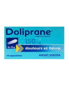 Doliprane suppositoire 150 mg