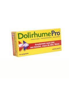 DolirhumePro paracétamol, pseudoéphédrine et doxylamine
