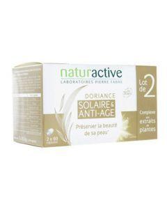 Naturactive Doriance Solaire Anti-âge Lot de 2x60 Capsules